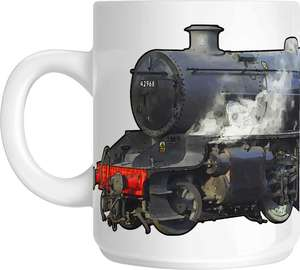 The Steam Mug Collection No5 - LMS Stanier Mogul No 42968