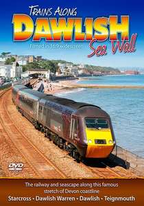 Trains Along Dawlish Sea Wall