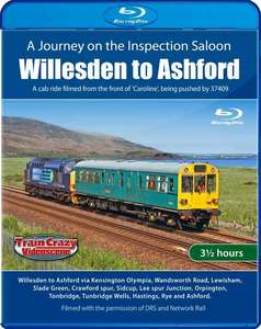 A Journey on the Inspection Saloon - Willesden to Ashford - Blu-ray