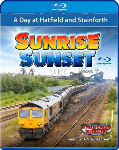Sunrise Sunset UK Volume 4 - A day at Hatfield and Stainforth. Blu-ray