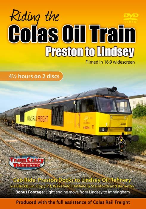 Riding the Colas Oil Train - Preston to Lindsey
