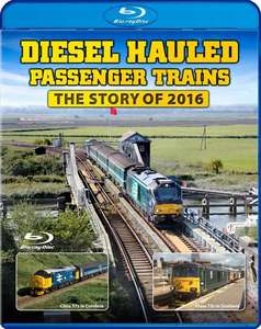 Diesel Hauled Passenger Trains - The Story of 2016 - Blu-ray