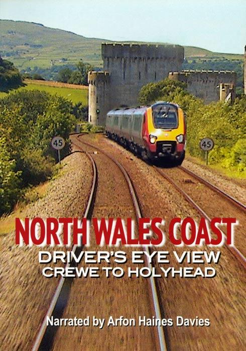 North Wales Coast - Crewe to Holyhead - Drivers Eye View