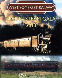 West Somerset Railway Spring Steam Gala 2013 Blu-ray