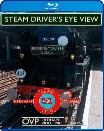 Steam Drivers Eye View - Bournemouth Belle 50th Anniversary Special - Blu-ray