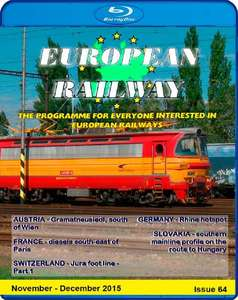 European Railway - Issue 64 November - December 2015 - Blu-ray