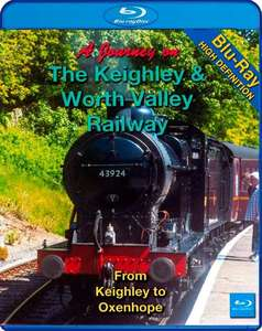 A Journey on The Keighley and Worth Valley Railway - Blu-ray