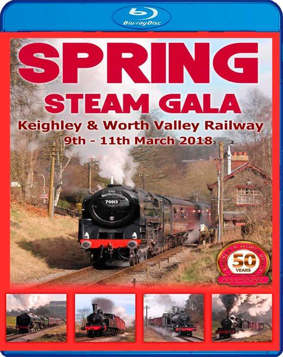 Keighley and Worth Valley Railway Spring Steam Gala 2018 - Blu-ray