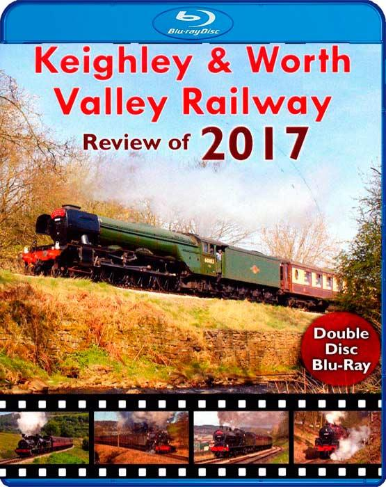 Keighley and Worth Valley Railway - Review of 2017 - Blu-ray