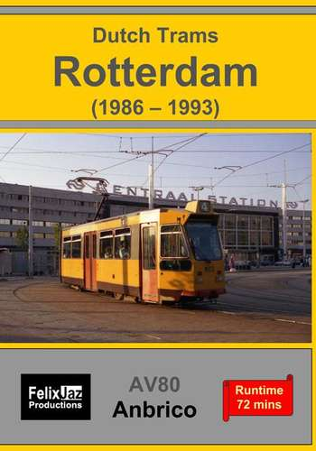 Dutch Trams - Rotterdam - 1986-1993