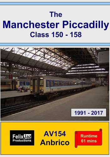 The Manchester Piccadilly Class 150 -158 - 1991 - 2017