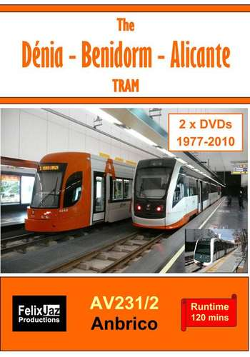 The Denia - Benidorm - Alicante Tram