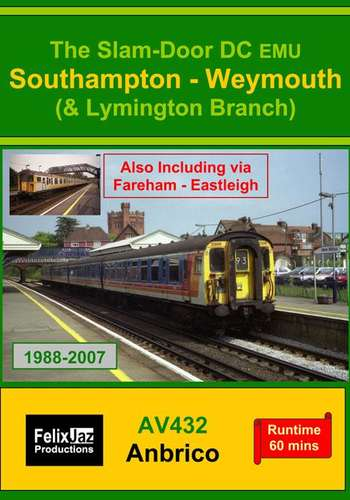The Slam-door DC EMU Southampton - Weymouth and Lymington Branch