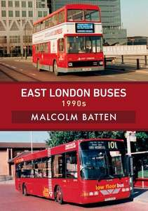 East London Buses - 1990s - Book