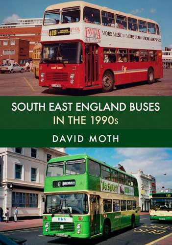 South East England Buses in the 1990s - Book