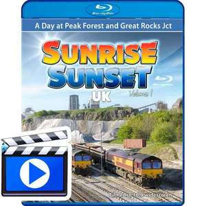 Sunrise Sunset UK Volume 1 - A day at Peak Forest and Great Rocks (1080p HD)