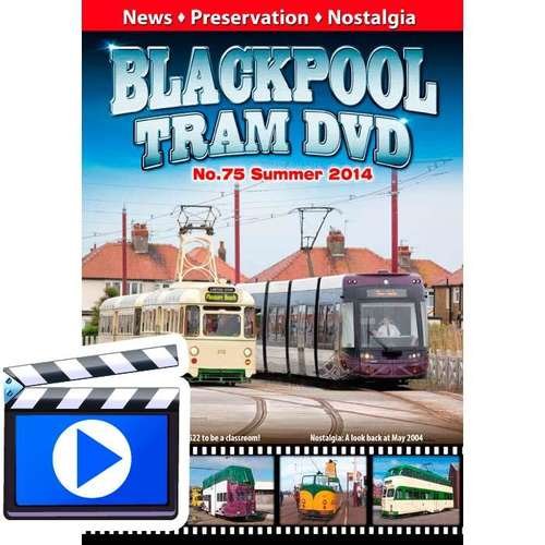 Blackpool Tram DVD 75 - Summer 2014