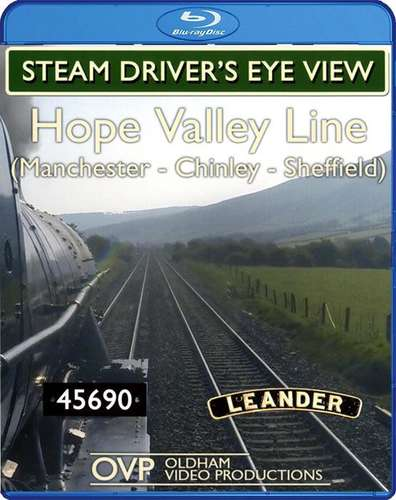 Steam Driver's Eye View - Hope Valley Line