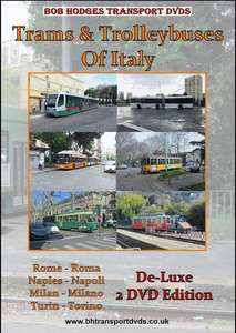 Trams And Trolleybuses Of Italy - De-Luxe 2 DVD Edition