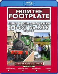 From the Footplate: Embsay & Bolton Abbey Railway. Blu-ray