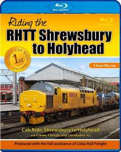 Riding the RHTT Shrewsbury to Holyhead. Blu-ray