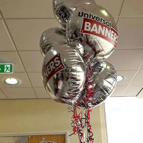 "Customised 18"" foil balloons"