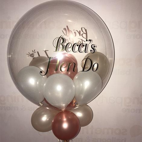 Vinyl Sticker balloons
