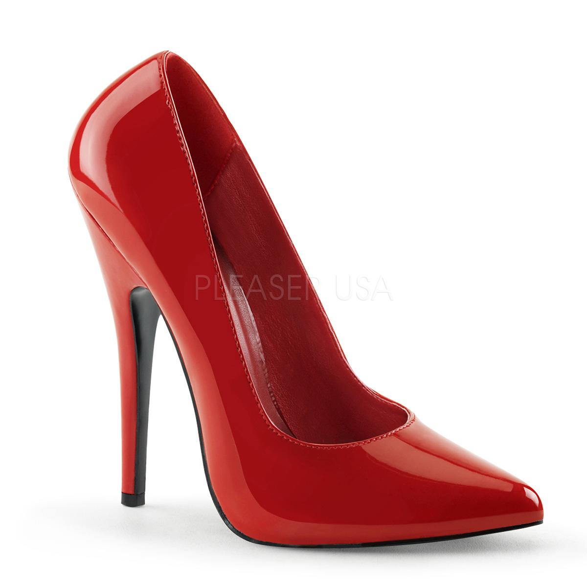 Red Patent Stiletto