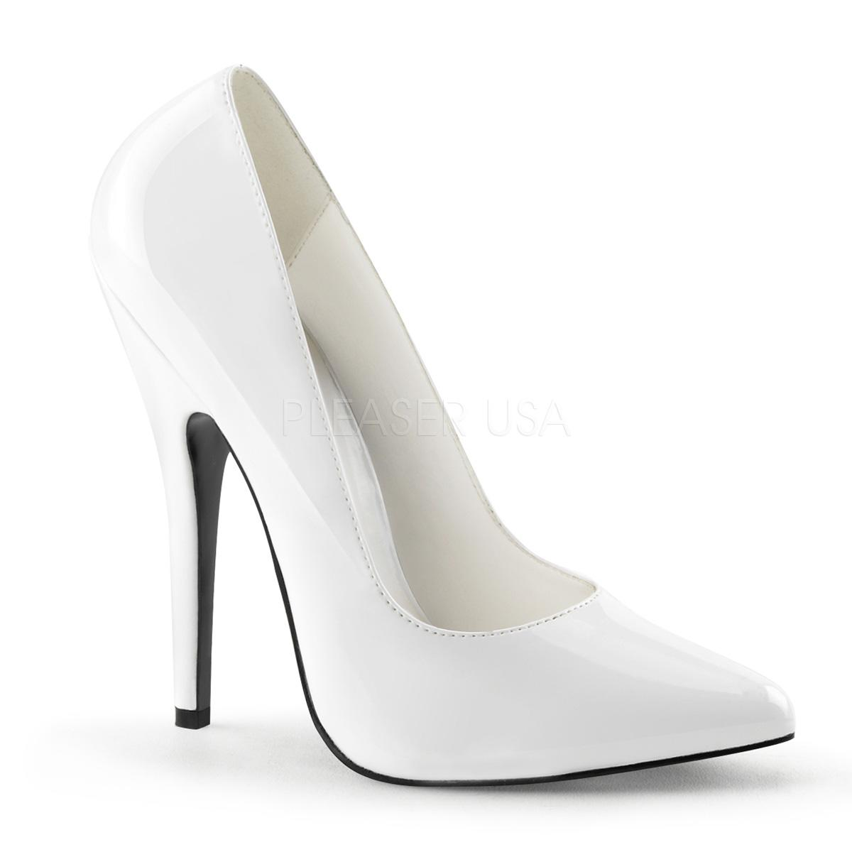 White Patent Stiletto