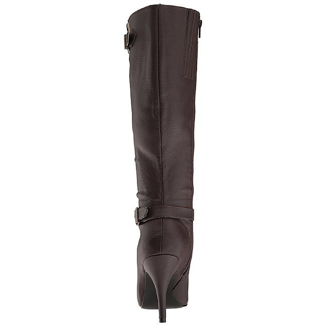 Brown Knee Boot rear view