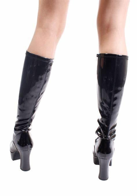 Gogo Knee Boot rear view