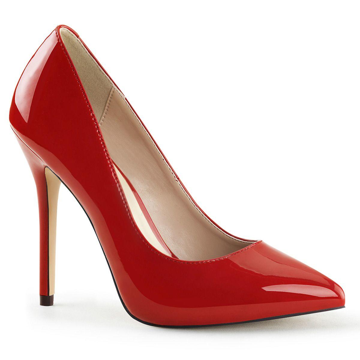 Premier Red Court Shoe