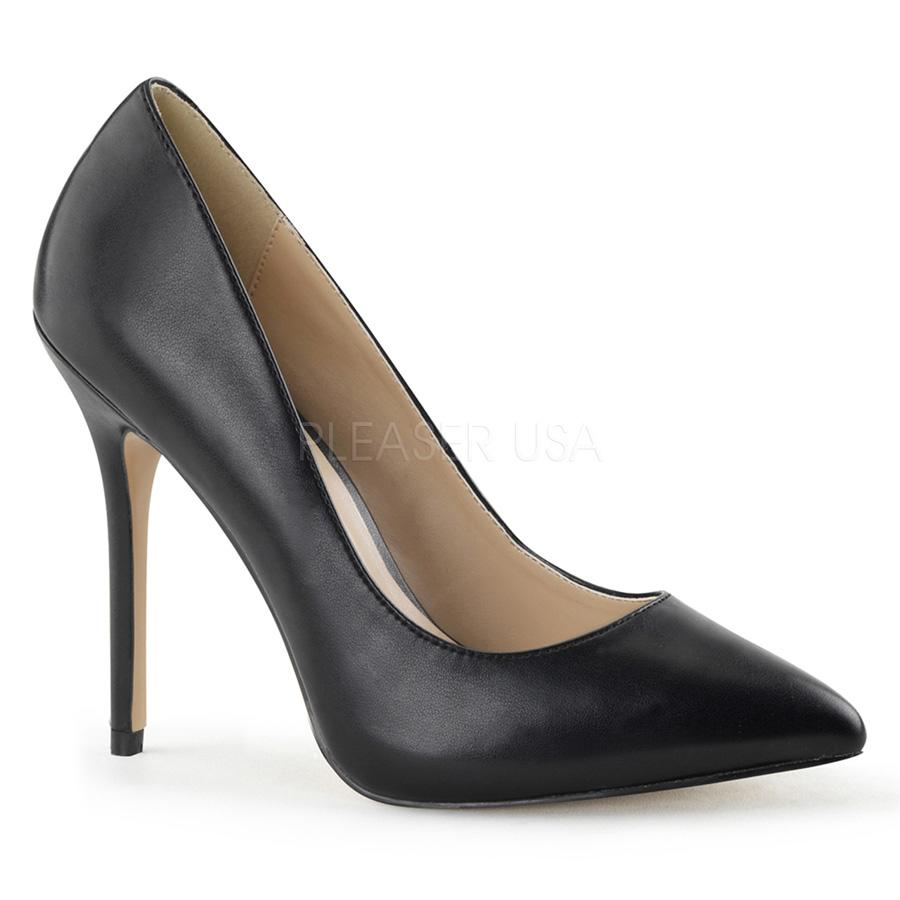 Premier Black PU Court Shoe