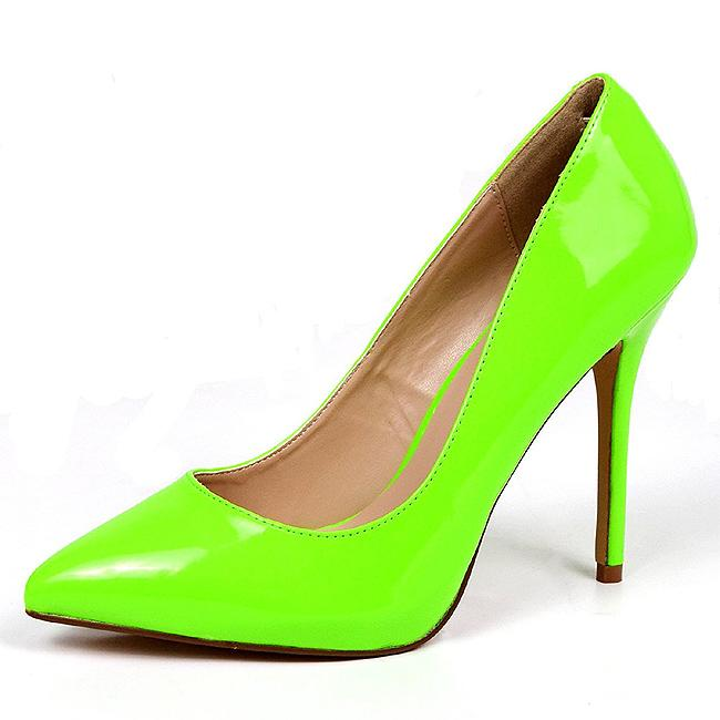 Premier Neon Green Court Shoe