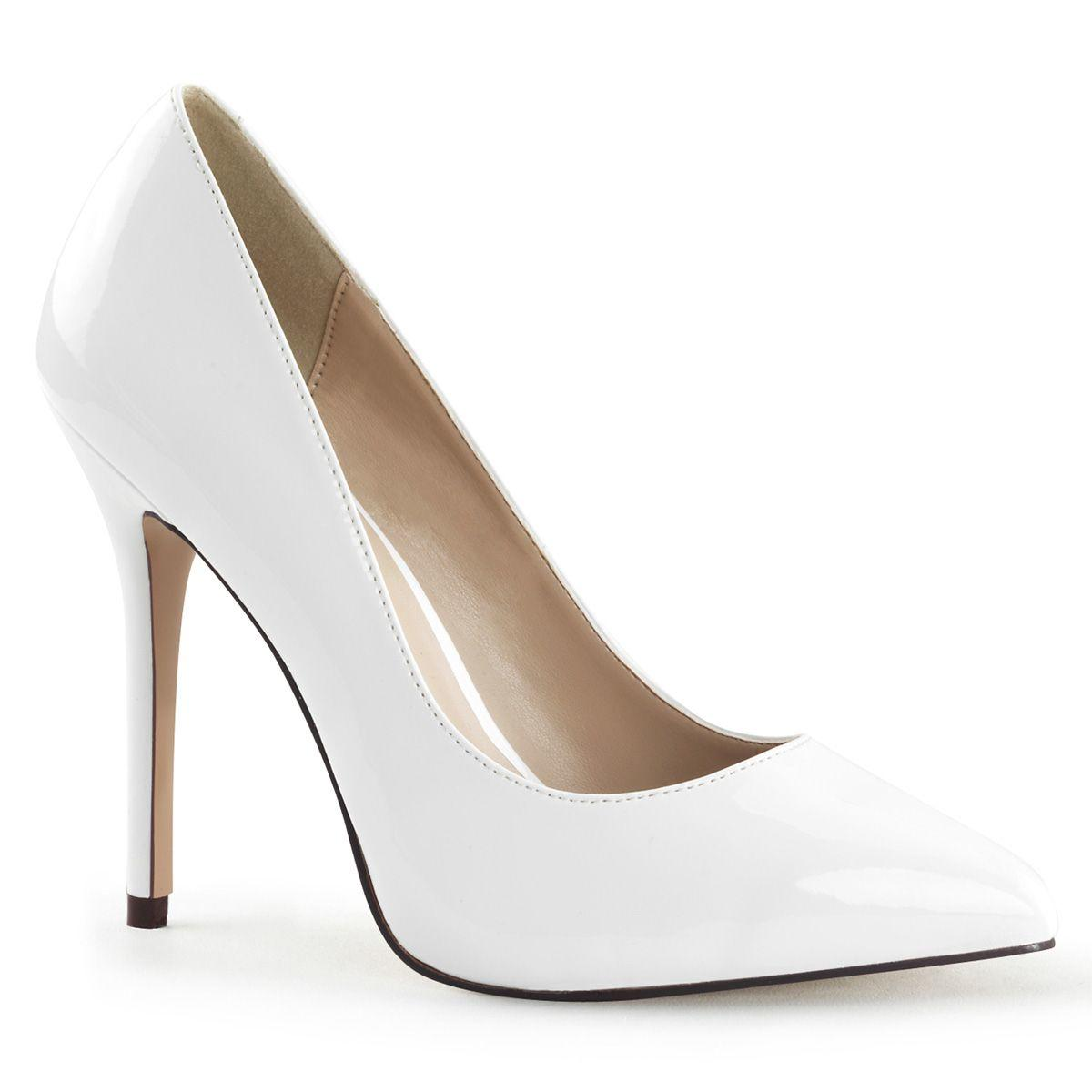Premier White Court Shoe