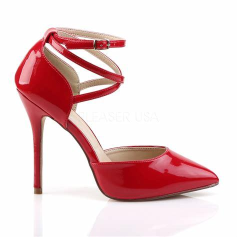 Red D'Orsay Shoe