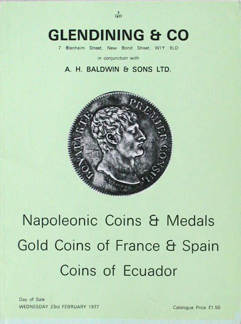 23 Feb, 1977  Napoleonic Coins and Medals