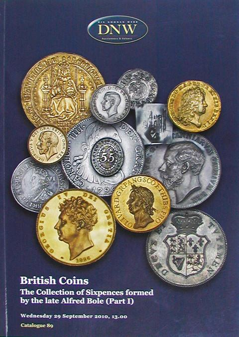 29 Sep, 2010.  DNW 89.  British Coin.