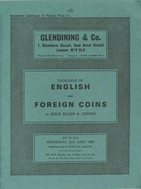 23 Jun, 1982  English and foreign coins.