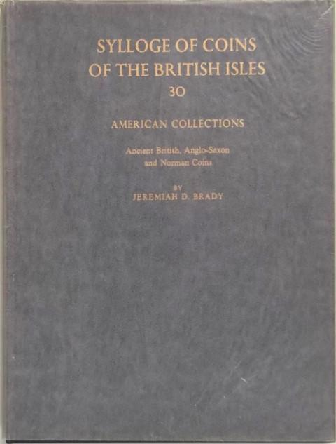 SCBI 30  American Collections. Ancient British, Anglo-Saxon and Norman Coins