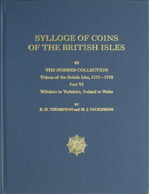 SCBI 49 The Norweb Collection. Tokens of the British Isles. Pt 6