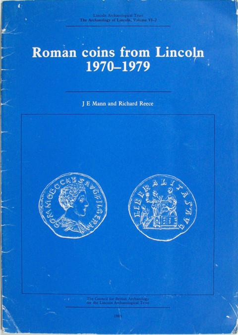 Roman coins from Lincoln 1970-1979