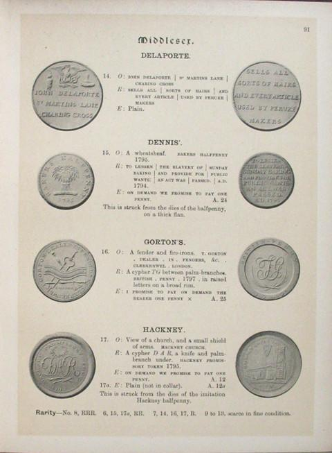 The Provincial Token Coinage of the 18th Century Illustrated.