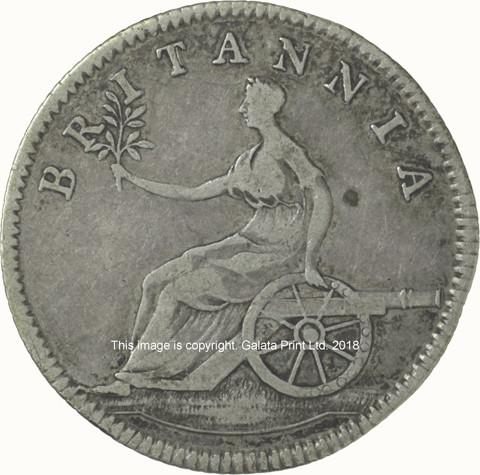 NON LOCAL Token Sixpence, undated.