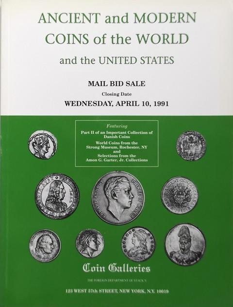 10 April, 1991  Coin Galleries