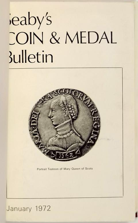 Seaby Coin and Medal Bulletin 1972
