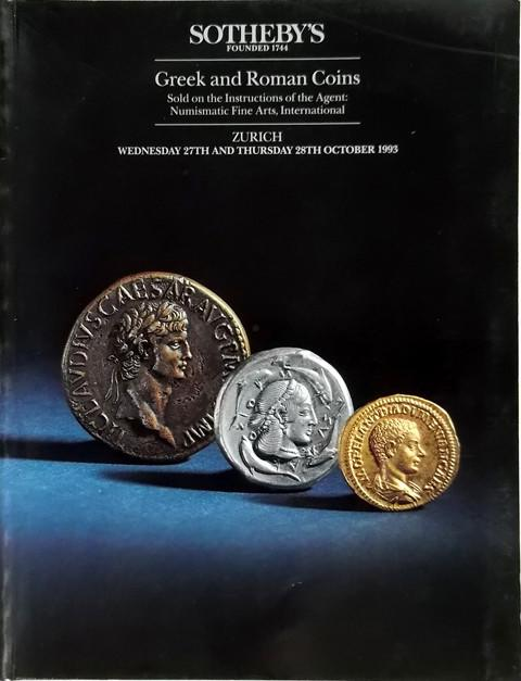 27 Oct, 1993.  Greek and Roman Coins