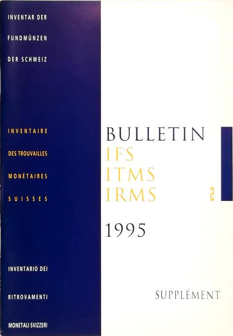 Bulletin IFS  ITMS  IRMS  2  1995  With supplement.
