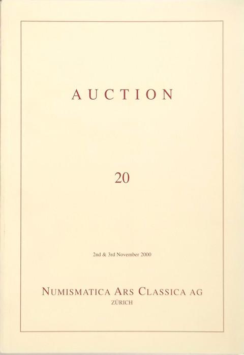 2 Nov. 2000.  Auction 20. Venice, Italy and world coins, medieval and modern.