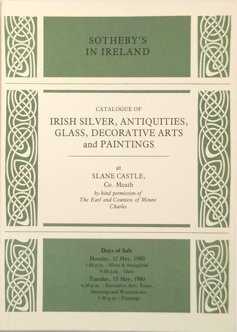 12 May, 1980  Irish Silver, Antiquities, Glass, Decorative Arts and Paintings.
